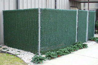 Fence Inserts - Hedgelink- Privacy Fence Inserts - Vinyl Fence